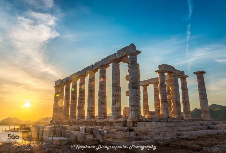 Poseidon Temple by Stephane Dionyssopoulos on 500px