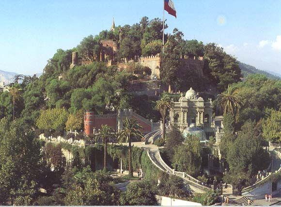 santiago de chile cerro santa lucia - Recherche Google