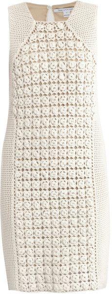 Diane Von Furstenberg Thalia Dress in White - Lyst