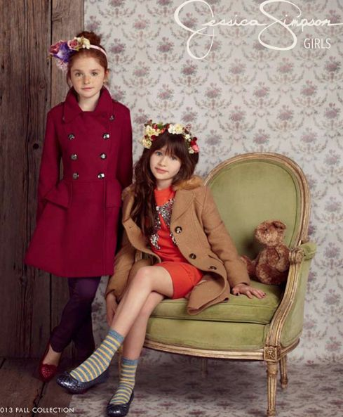 Jessica Simpson fall 2013 girls fashion collection