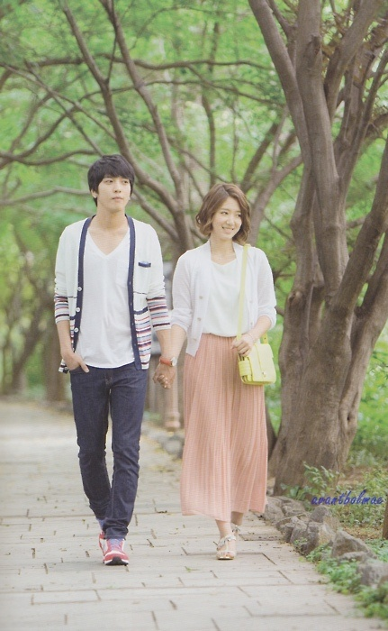 definitely want! park shin hye and jong yong hwa