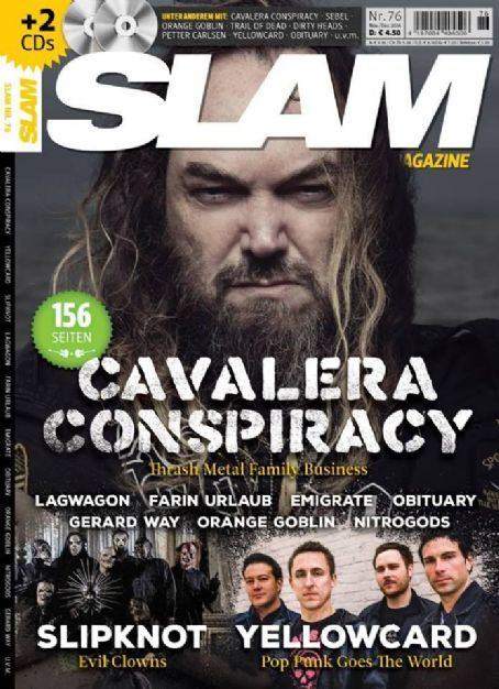 Max Cavalera - SLAM alternative music magazine [Germany] (December 2014)