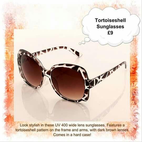 Ladies Tortoise Shell Sunglasses