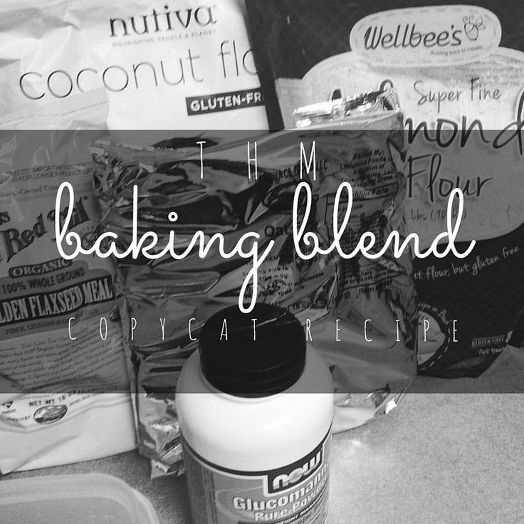 Trim Healthy Mama Baking Blend Copy Cat Recipe
