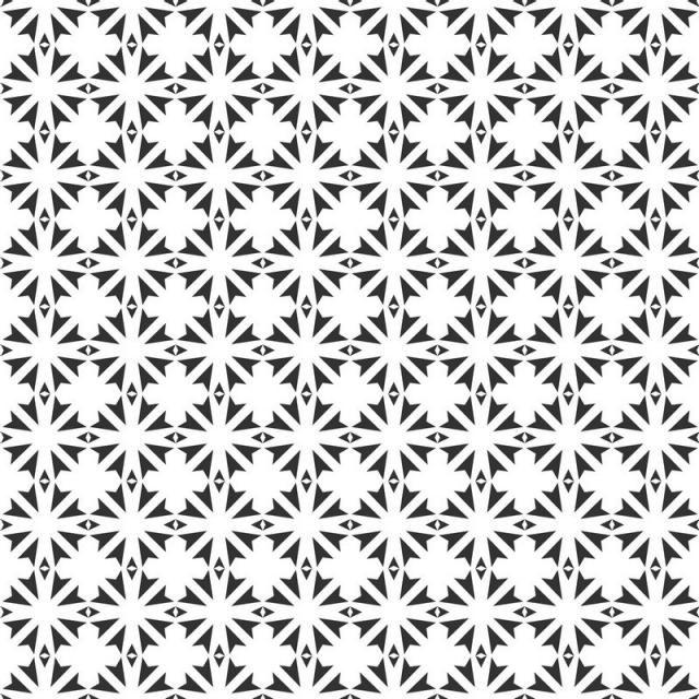 الخلاصة الهندسية نمط سلس تكرار هندسي ابيض واسود هندسي خلاصة نسيج Png والمتجهات للتحميل مجانا Seamless Patterns Geometric Abstract