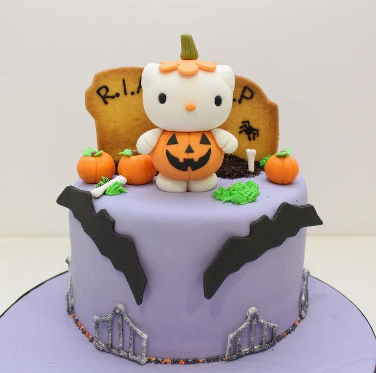 pastel Hello Kitty Halloween calabaza Pumpkin Hello Kitty