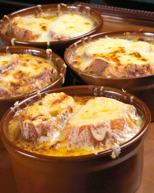 Traditional French Onion Soup....If you have never made French Onion Soup you don't know what you are missing!