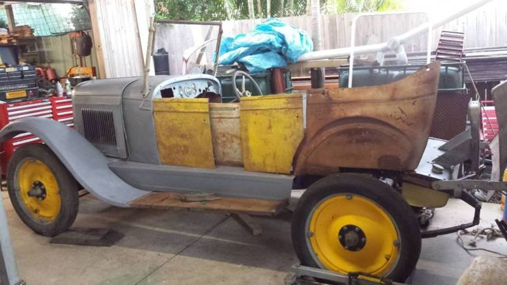 1927 Chev Tourer unrestored 98  complete  Requires a ground up restoration 4 Brand New Tyres included A very popular car in Australia Fisher Body Restoration ..., 1115250060