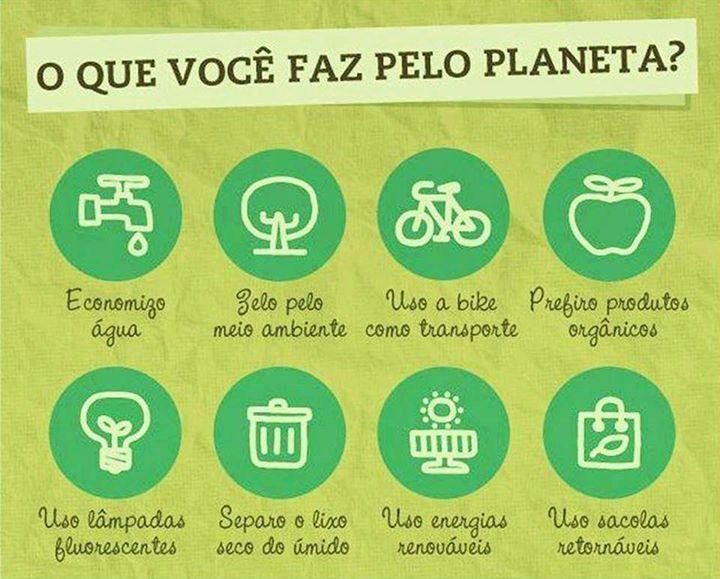 Hoje começa a Semana Mundial do Meio Ambiente que tem como objetivo promover a…