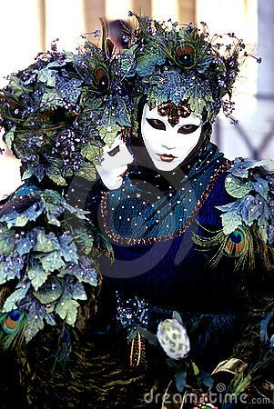Love the ivy on these two... (Venice, Italy)....the best way to celebrate Mardi Gras Venetian Style.