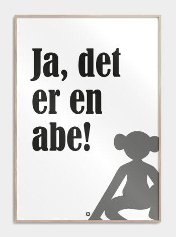 Citatplakater - Sjove danske citater på fede plakater!