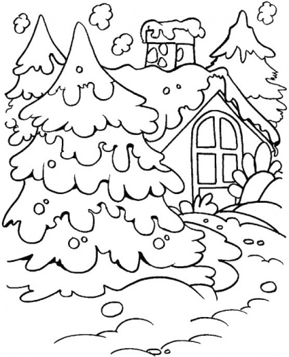 Decide you want more ice than afraid of it coloring page