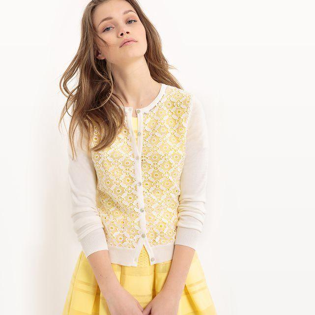 Long-Sleeved Cotton Cardigan