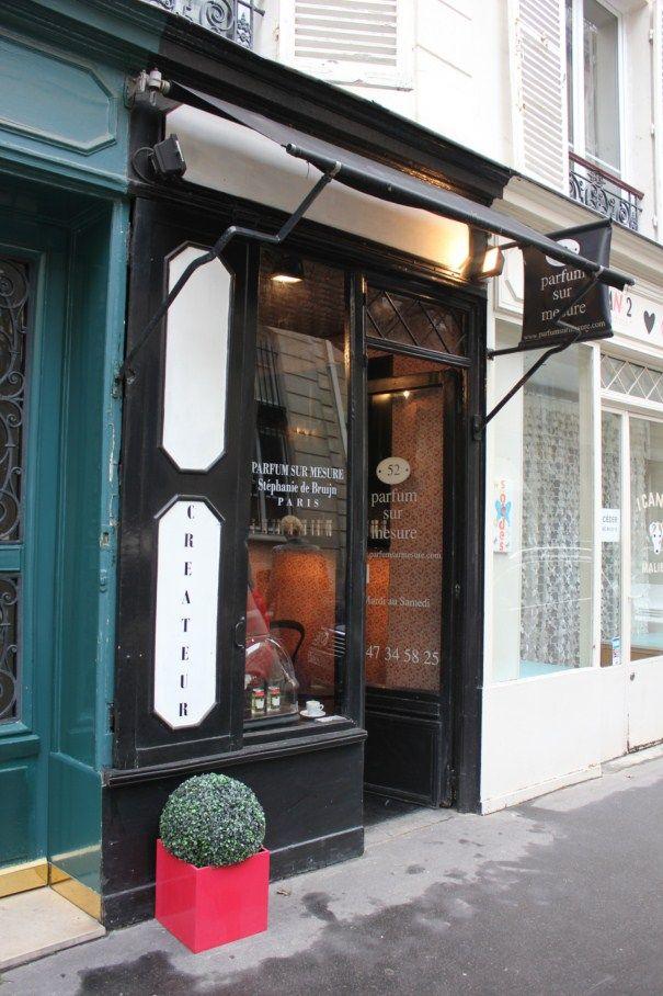 parfum sur mesure cr ateur de parfum paris store facades pinterest paris. Black Bedroom Furniture Sets. Home Design Ideas