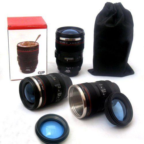 MFEIR® caméra objectif tasse de la caméra de tasse de café / Objectif tasse de café OBJECTIF DE CAMERA Tasse caméra tasse de lentilles sous…