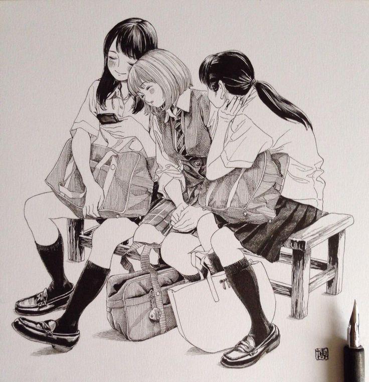 恋する三人