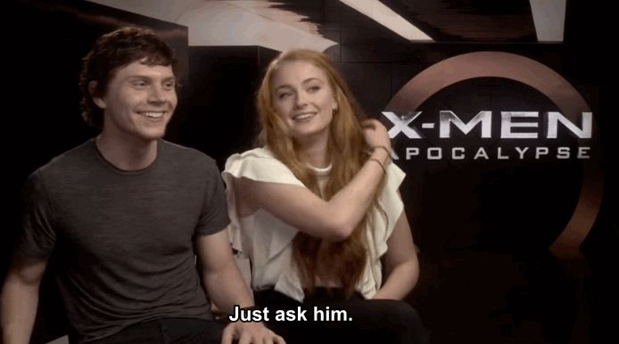 """Sophie Turner Has A Rude Song She Sings At James McAvoy On The """"X-Men"""" Set"""