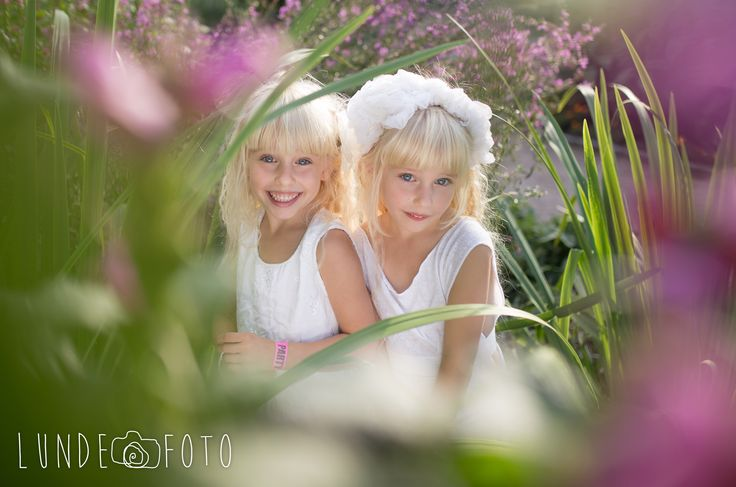 The cutest twin sisters!! <3