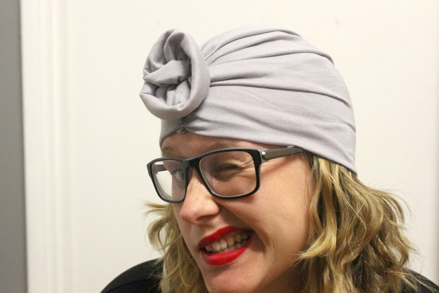 DIY turban with instructions