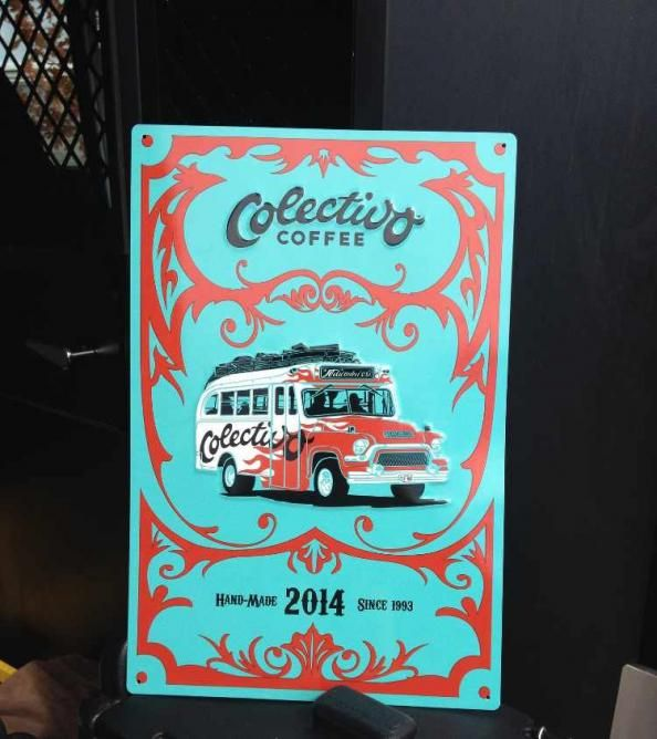 Colectivo Coffee sign