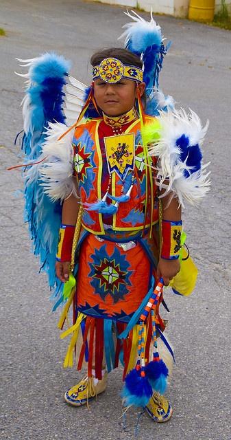 Native American Child, via Flickr.