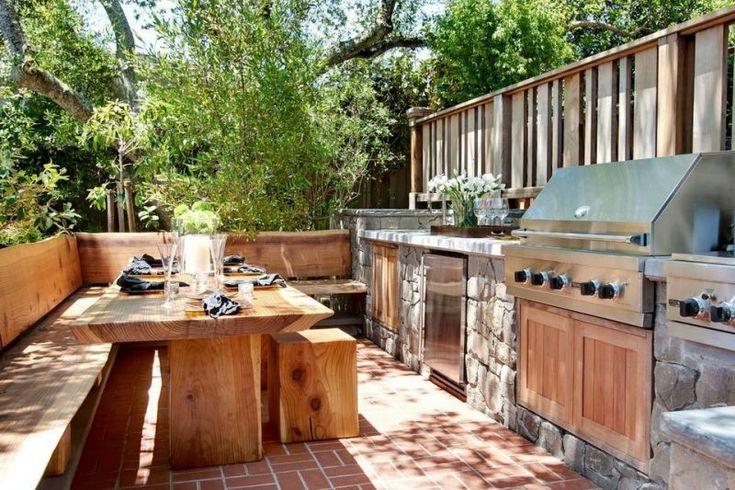 20 Outdoor-Küchenideen (Frische Luft und Sonnenlicht genießen)