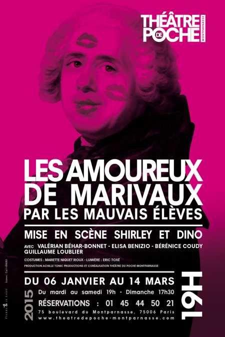Une relecture de Marivaux par Shirley et Dino? ça badine avec l'humour!