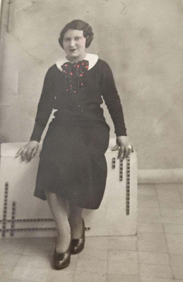 Uma noiva de vestido Preto