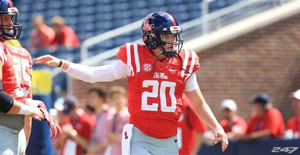 Ole Miss Football Where Does Athlon Rank Shea Patterson Among All FBS QBs