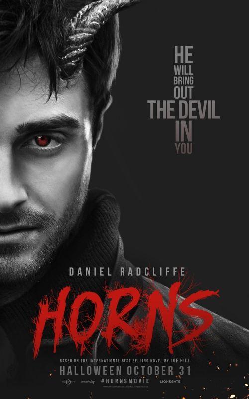 Nouveau poster pour #Horns d'Alexandre Aja.