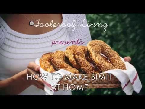 How to make Turkish Simit at home  - Canada | United States | www.turkishbazaar.ca - YouTube