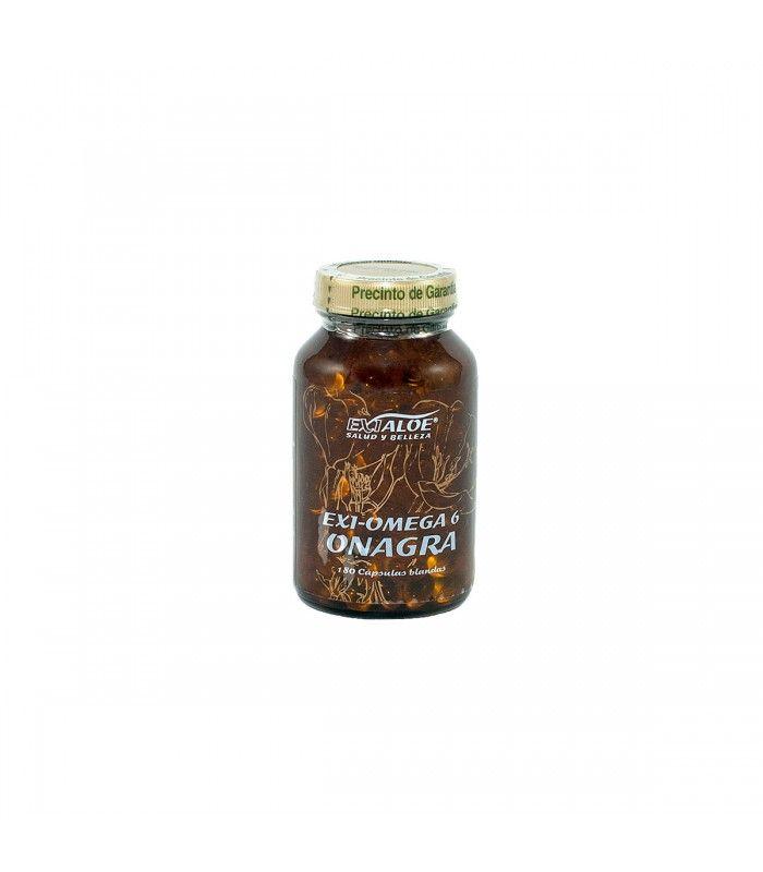 Complemento alimenticio a base de aceite de Onagra, obtenido por primera presión en frío, rico en ácidos grasos esenciales Omega 6. Necesarios para una eficaz regulación del metabolismo y de la actividad neuroendócrina.
