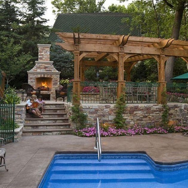 Pool Shade Ideas For Pergolas Pergolas And Pool Shade