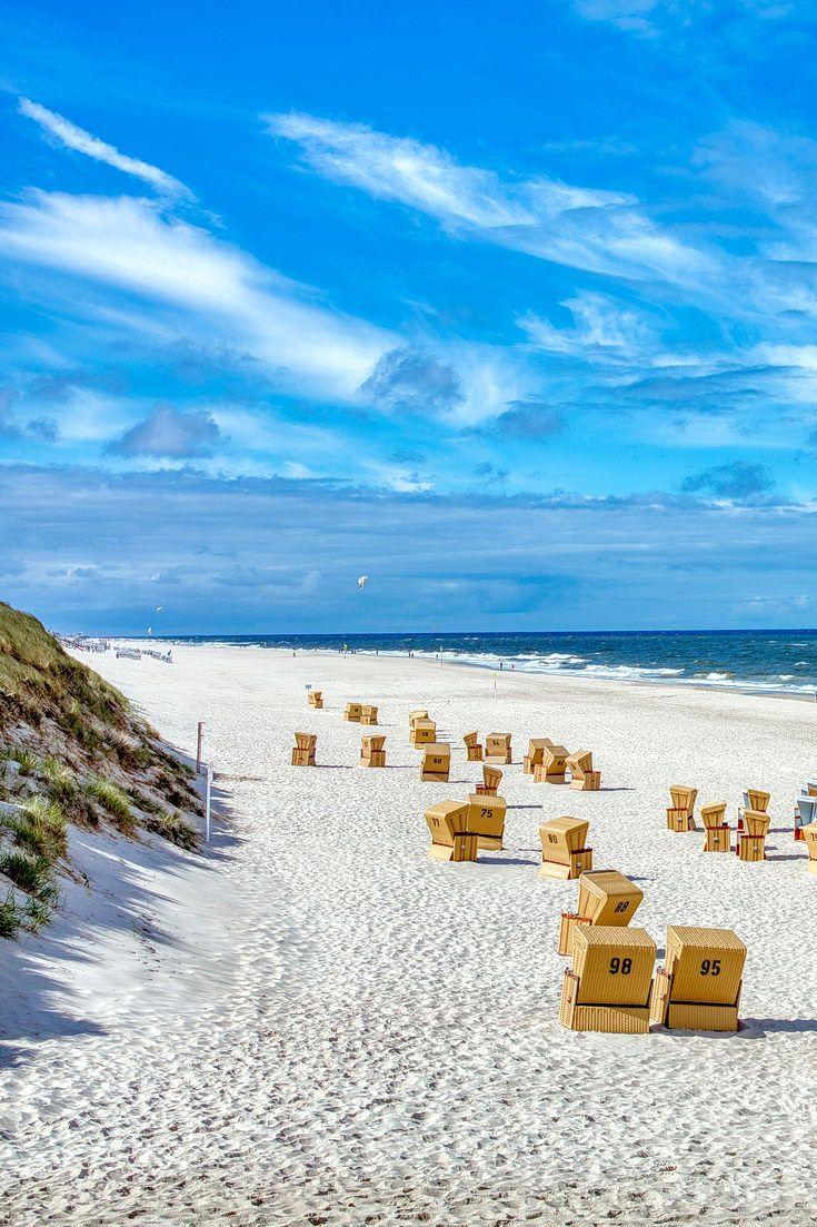Westerland Auf Sylt Sylt Urlaub Sylt Strand Nordsee