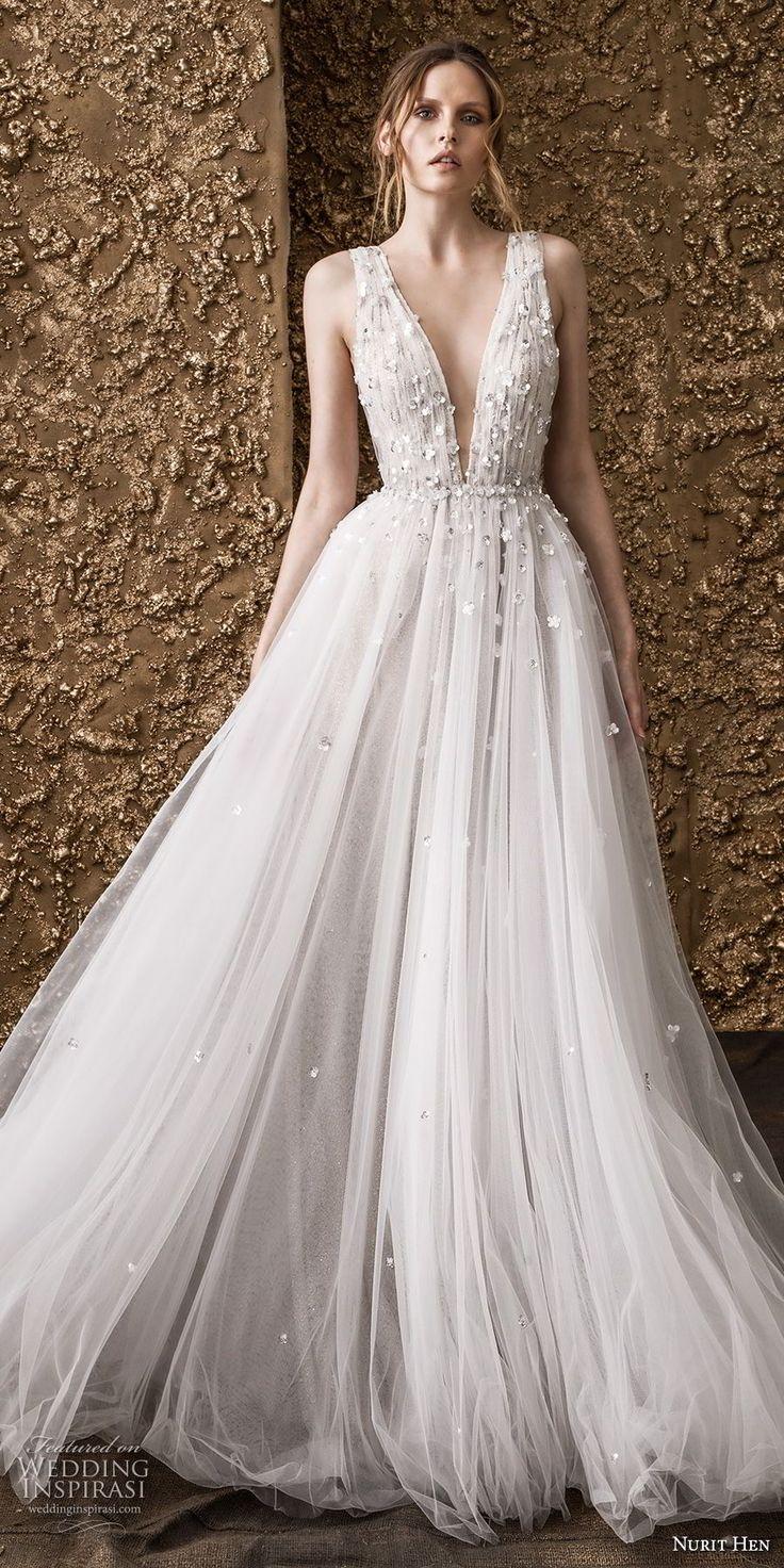 "Nurit Hen 2018 Wedding Dresses — ""Golden Touch"" Bridal Collection"
