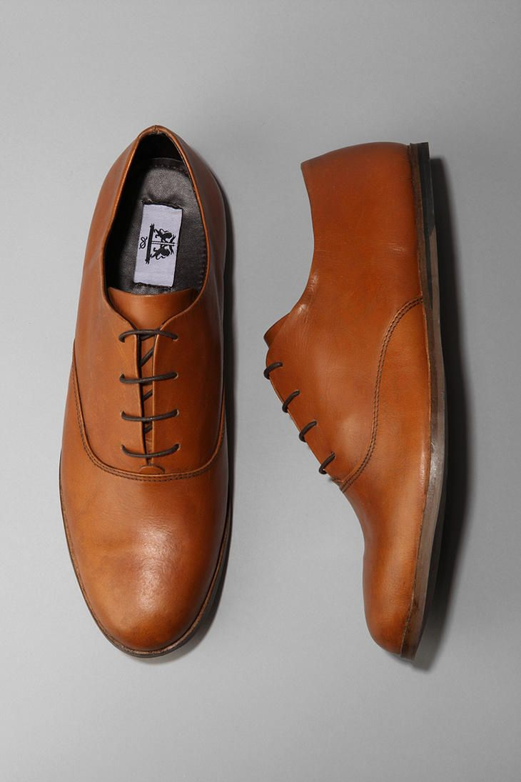 UO Leather Derby Shoe  #UrbanOutfitters