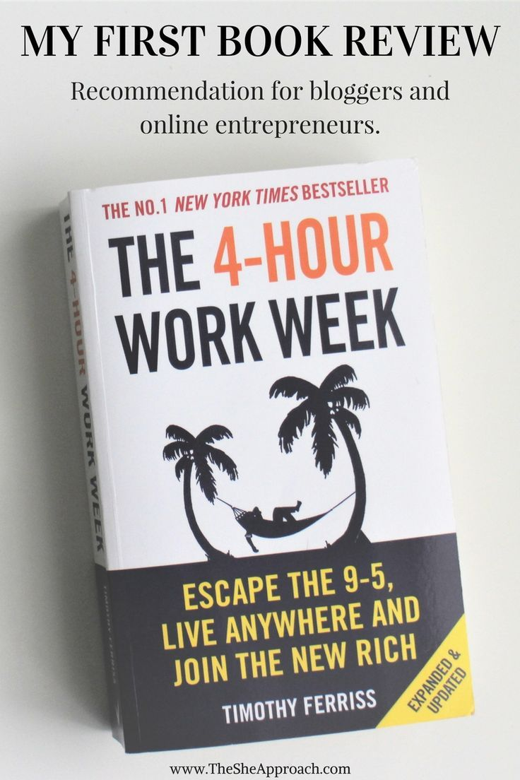 My First Book Review: The 4 Hour Work Week