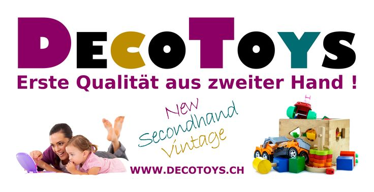 DECOTOYS - Secondhand in first quality !  In our webshop you will find especially neat secondhand toys, but also new toys and well-selected vintage items and rarities. Parents, grandparents, godfather, playgroups, day care centers or collectors, they will find the right things to fair prices!