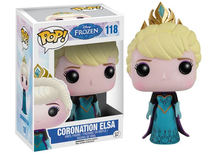 DISNEY – FROZEN – CORONATION ELSA FUNKO POP! VINYL FIGURE