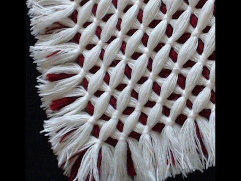 Criss cross blanket - CRISS CROSS pattern - YouTube
