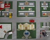 $26.00 Toy Car Play Mats pattern