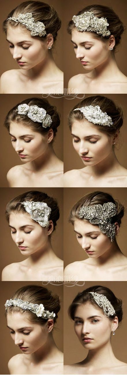 Love these bridal hair accessories!