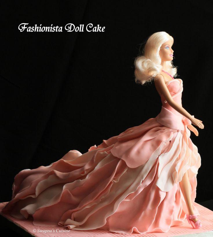 Swapna's Cuisine: The Fashionista Doll Cake