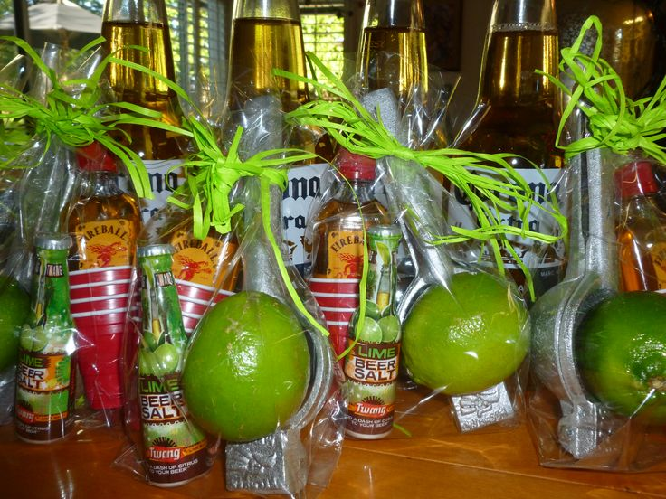 cool and fun grownup guy favors - great for bachelor parties too!