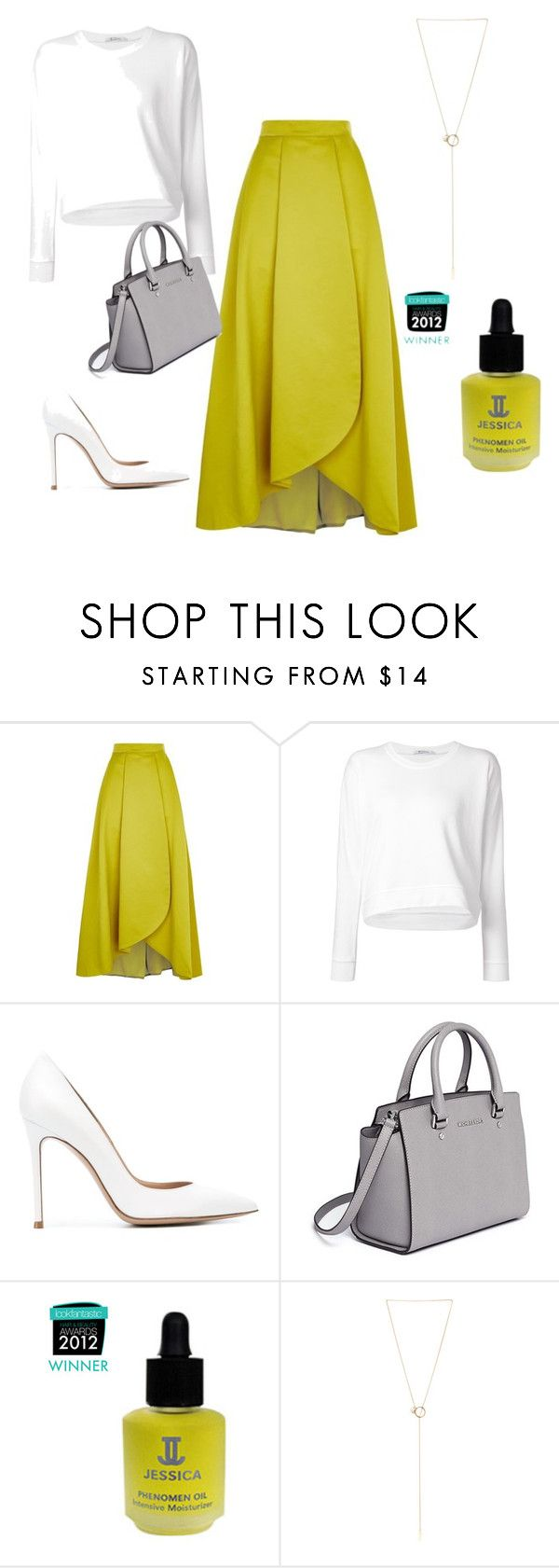 """""""Sophisticated and chic! I'm proud of it :)"""" by josefinai ❤ liked on Polyvore featuring Pinko, T By Alexander Wang, Gianvito Rossi, MICHAEL Michael Kors and Maison Margiela"""