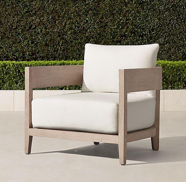 Restoration Hardware Outdoor Swivel Chairs