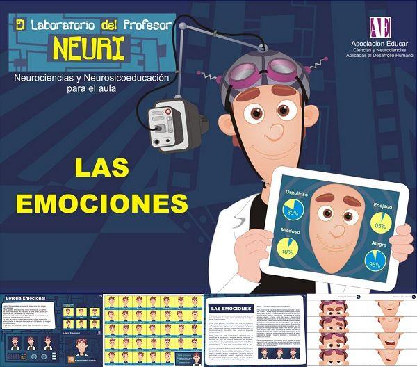 Herramientas para el funcionamiento de las emociones.El laboratorio del Profesor Neuri se encuentra compuesto por diversas propuestas orientadas a que los docentes, junto con sus alumnos, conozcan el funcionamiento del cerebro y, además, desarrollen habilidades intra e interpersonales a través de juegos.  #Puzzleemociol #Loteriaemocional #actividadesemociones
