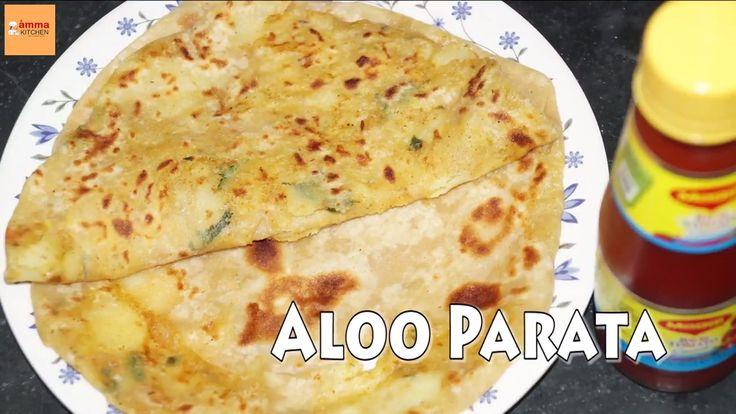 Aloo Paratha Recipe in Telugu Amma Kitchen- Latest Indian Recipes