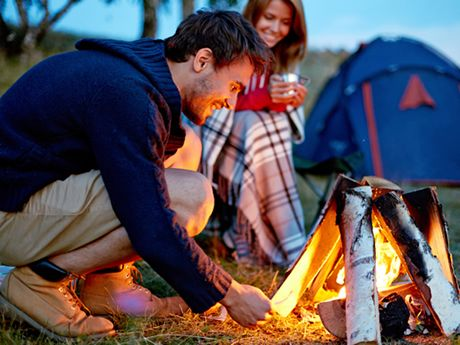 Pop the bubbly, start a fire and enjoy your romantic camping trip for two. Here are a few tips to plan the perfect trip for you and your significant other.