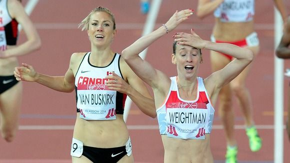 Laura WEIGHTMAN [Silver], [Women's 1500m] England